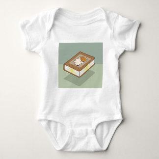 Brain book baby bodysuit