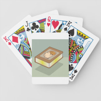 Brain book bicycle playing cards