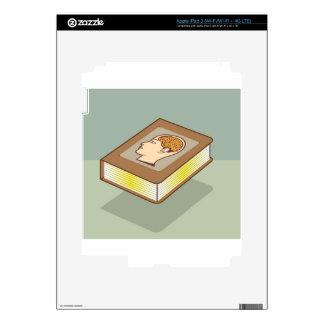 Brain book iPad 3 skin