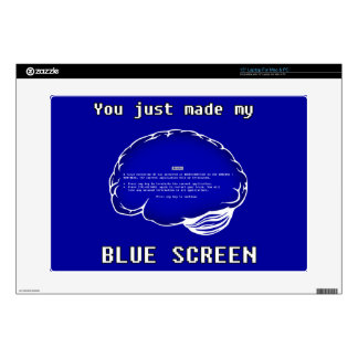 Brain BSOD Decal For Laptop