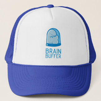 Brain Buffer Hat Blue