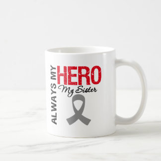 Brain Cancer Always My Hero My Sister Classic White Coffee Mug