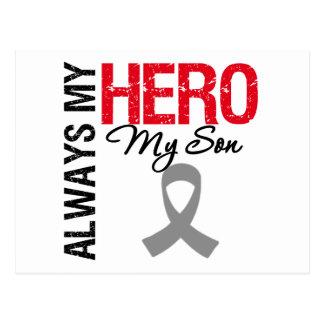 Brain Cancer Always My Hero My Son Postcards