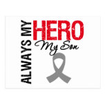 Brain Cancer Always My Hero My Son Postcards