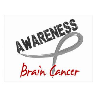 Brain Cancer Awareness 3 Postcard