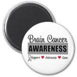 Brain Cancer Awareness & Advocacy Fridge Magnets