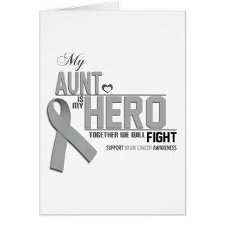 Brain Cancer Awareness: aunt Card