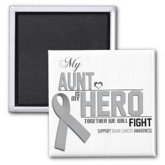 Brain Cancer Awareness: aunt Magnet