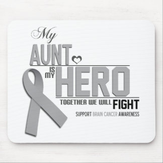 Brain Cancer Awareness: aunt Mouse Pad