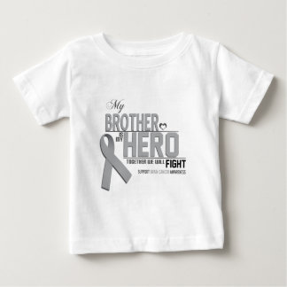 Brain Cancer Awareness: brother Baby T-Shirt