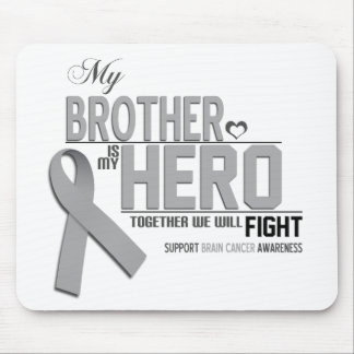 Brain Cancer Awareness: brother Mouse Pad