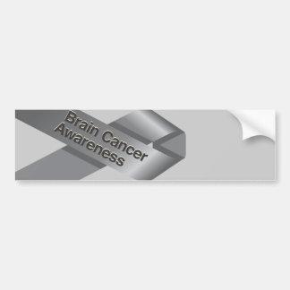 Brain Cancer Awareness Bumper Sticker