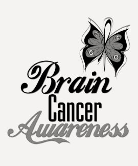 Brain Cancer Awareness Butterfly Tshirts