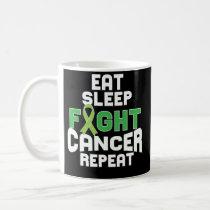Brain Cancer Awareness Coffee Mug Grey Ribbon