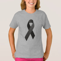 Brain Cancer Awareness front/back print T-Shirt