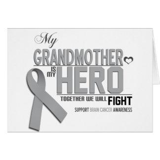 Brain Cancer Awareness: grandmother Card