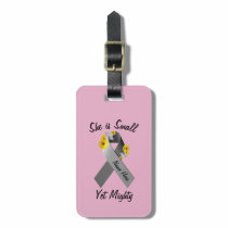 Brain Cancer Awareness (Luggage Tag) Luggage Tag