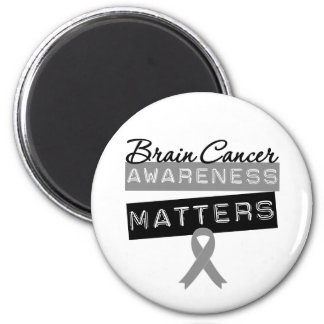 Brain Cancer Awareness Matters 2 Inch Round Magnet