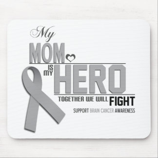 Brain Cancer Awareness: mom Mouse Pad