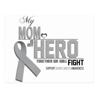 Brain Cancer Awareness: mom Postcard