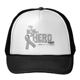 Brain Cancer Awareness: mom Trucker Hat