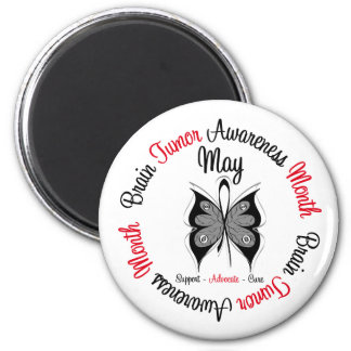 Brain Cancer Awareness Month - May Fridge Magnets