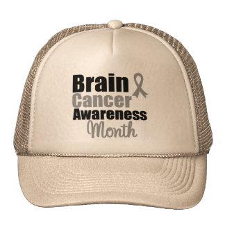Brain Cancer Awareness Month Ribbon Mesh Hat