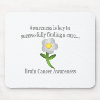 Brain Cancer Awareness Mouse Pad