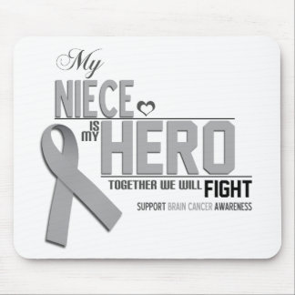 Brain Cancer Awareness:  niece Mouse Pad