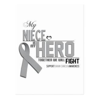 Brain Cancer Awareness:  niece Postcard