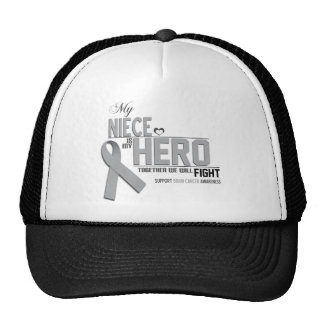Brain Cancer Awareness:  niece Trucker Hat