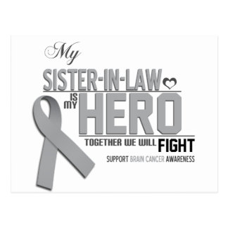 Brain Cancer Awareness:  sister in law Postcard