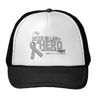 Brain Cancer Awareness:  sister in law Trucker Hat