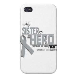 Brain Cancer Awareness: sister iPhone 4/4S Cover