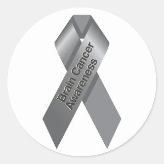 Brain Cancer Awareness Sticker