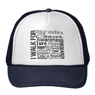 Brain Cancer Awareness Walk Trucker Hat