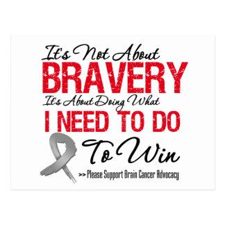 Brain Cancer Battle Post Card
