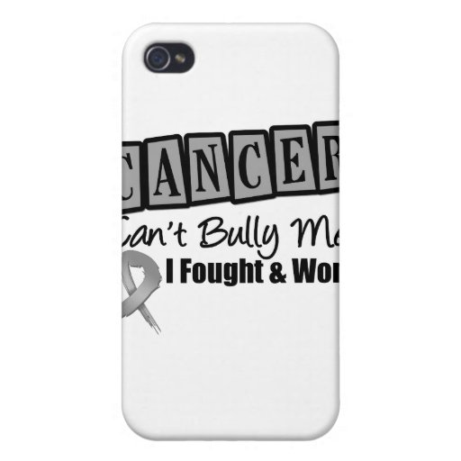 Brain Cancer Can't Bully Me...I Fought I Won iPhone 4/4S Cover