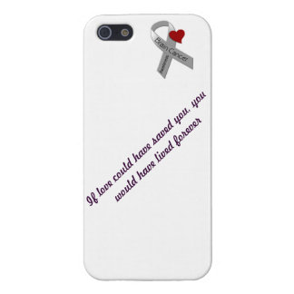 Brain Cancer Cell Case Cover For iPhone 5/5S