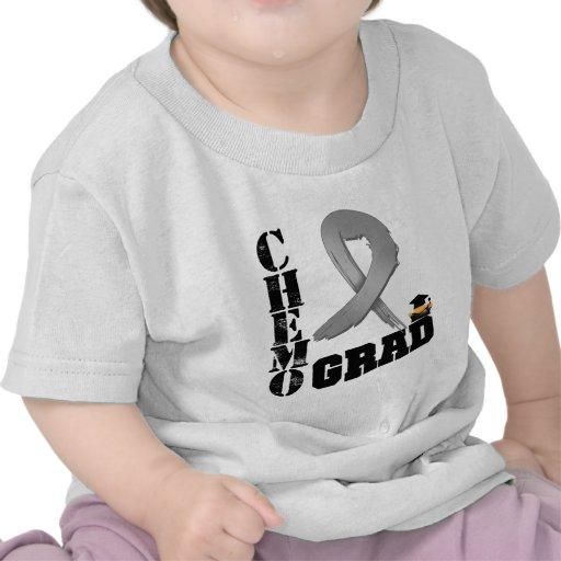 Brain Cancer Chemo Grad Tee Shirt