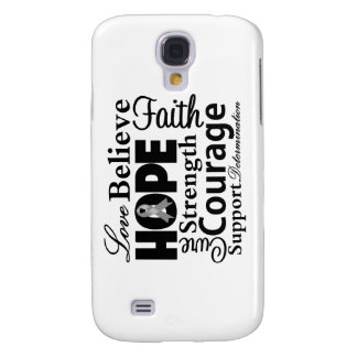 Brain Cancer Collage of Hope Samsung Galaxy S4 Covers