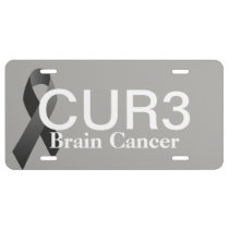 Brain Cancer CUR3 plate