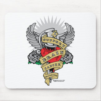 Brain Cancer Dagger Mouse Pad