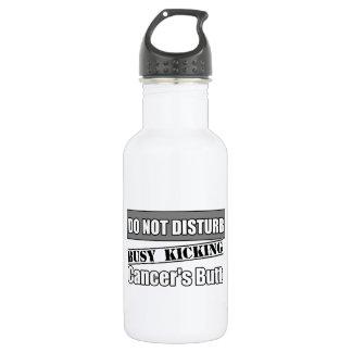 Brain Cancer Do Not Disturb Kicking Butt Stainless Steel Water Bottle
