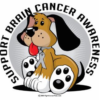 Brain Cancer Dog Statuette