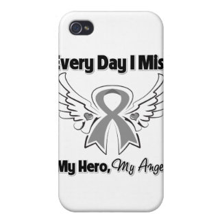 Brain Cancer Every Day I Miss My Hero iPhone 4/4S Case