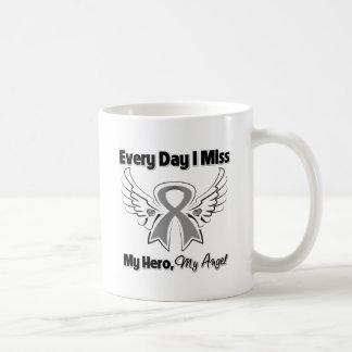 Brain Cancer Every Day I Miss My Hero Coffee Mug