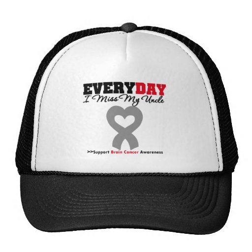 Brain Cancer Every Day I Miss My Uncle Trucker Hat