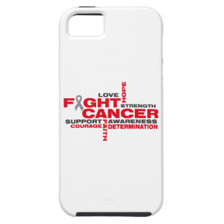 Brain Cancer Fight Collage iPhone 5 Cover
