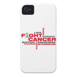 Brain Cancer Fight Collage Case-Mate iPhone 4 Case